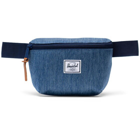 Herschel Fourteen Ensemble de sacoches de ceinture, faded denim